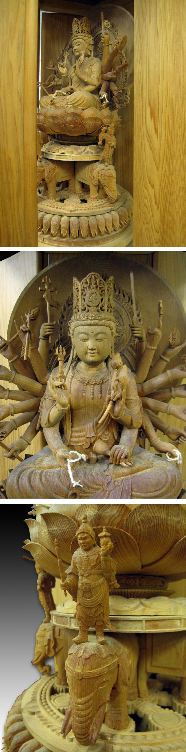 黑白佛菩萨雕刻图案素材